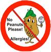 Peanut free icon